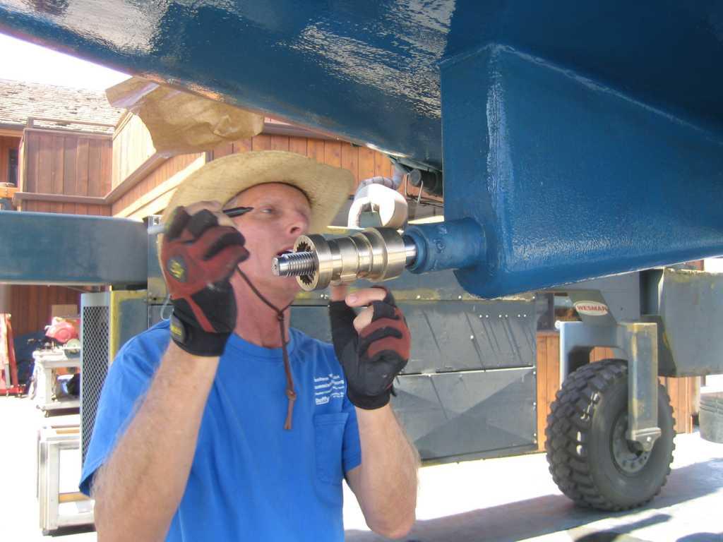 Cutlass Bearing 1 Shaft Drive : Improvements to rhapsody